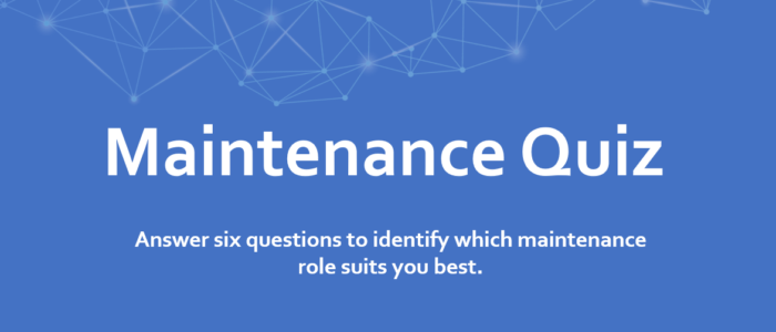 Quiz for maintenance experts